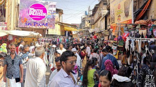 Ein ganz normaler Tag in Pune. (Foto: Ruti)