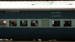 Die Sleeper-Class der indischen Eisenbahn - der Ort des Geschehens (Foto: Ruti)