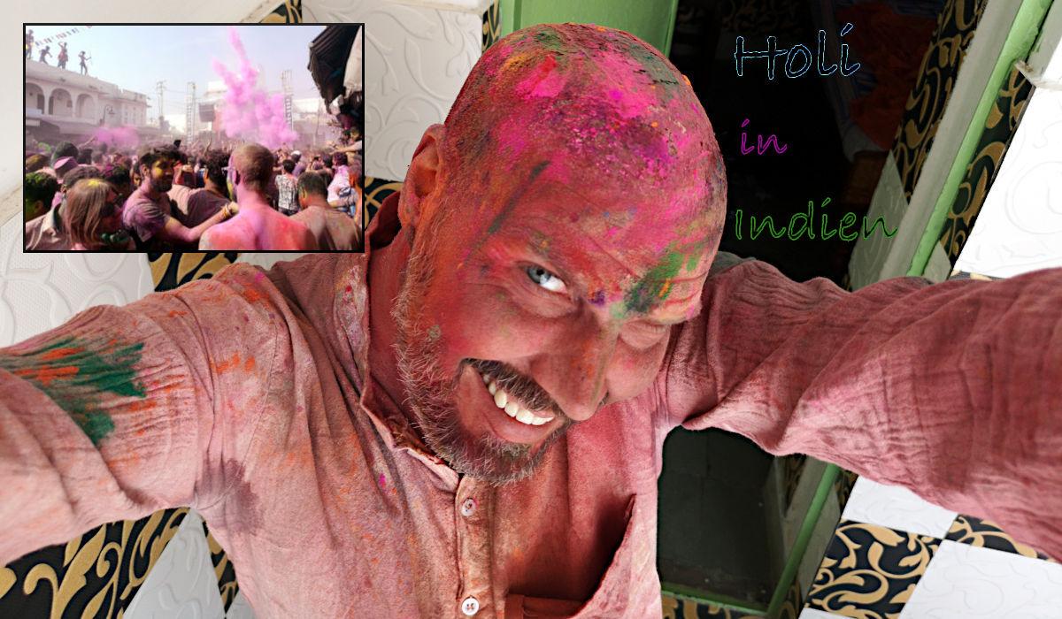 Holi Festival - der Wahnsinn in Pushkar