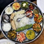 Das Special Thali im Ashish Café ist das beste Thali, das ich in zwei Monaten Indien gesehen habe. (Foto: Ruti)