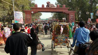 Auf gehts zum Kumbh Mela in Allahabad! (Foto: Ruti)