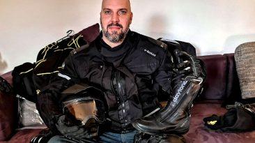 Meine Motorrad-Kleidung für die große Reise (Foto: Ruti)