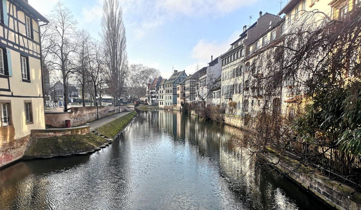 "Die malerische Altstadt ""Petite France"" in Straßburg. (Foto: Ruti)"