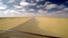 Heute gehts mit dem Motorrad in die Westsahara. (Foto: Ruti)
