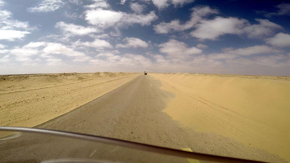 Als Anfänger auf Motorrad-Reise - Westsahara