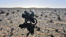 Luzy in der Sahara (Foto: Ruti)
