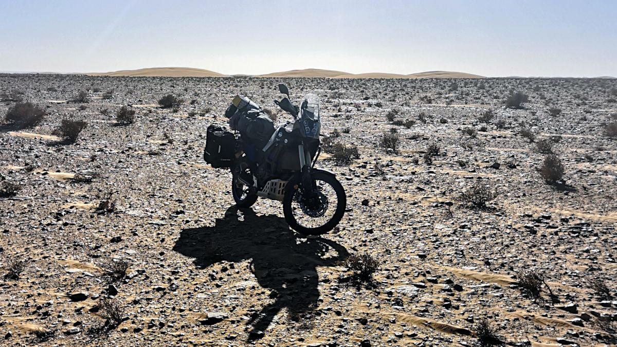 Als Anfänger auf Motorrad-Reise - offroad durch die Sahara