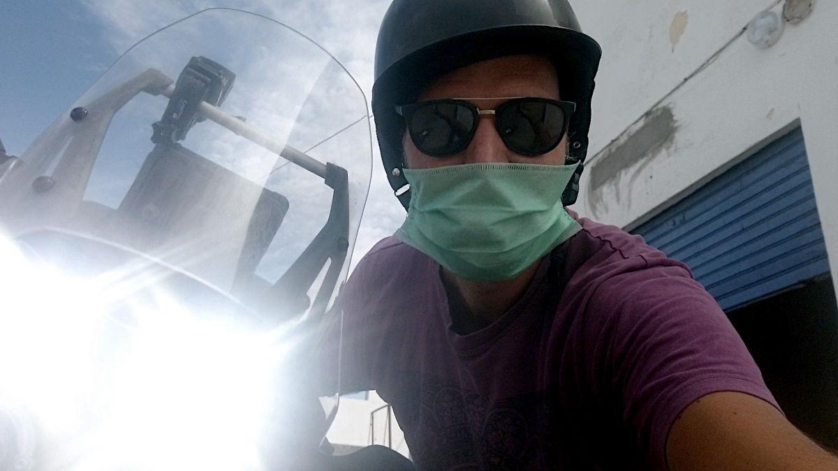 Als Anfänger auf Motorrad-Reise - Marokko verlängert Lockdown