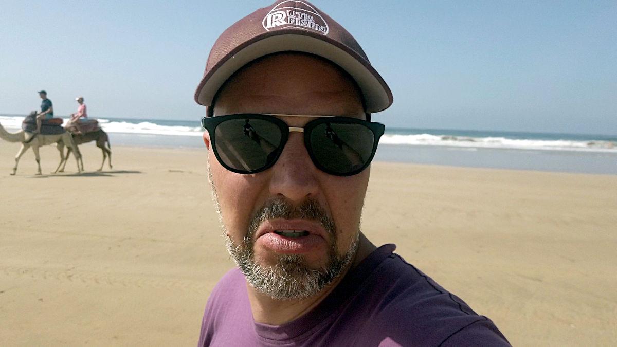 Als Anfänger auf Motorrad-Reise - magenkrank im Surfparadies