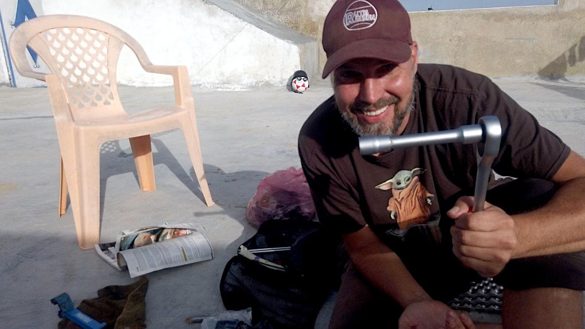 Als Anfänger auf Motorrad-Reise - Werkzeug