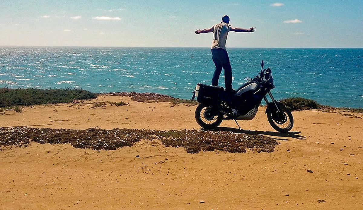 Als Anfänger auf Motorrad-Reise - Abschied