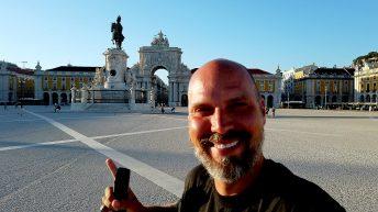 8 Monate nach meinem Aufbruch in Deutschland erreiche ich Lissabon. (Foto: Ruti)