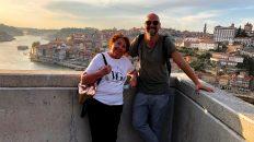 Meine Mama kommt zu Besuch nach Porto. (Foto: Ruti)