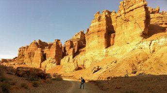 Ruti im Scharyn-Canyon in Kasachstan (Quelle: Ruti)