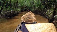 Die Landschaft im Mekong-Delta in Vietnam ist malerisch. (Foto: Ruti)