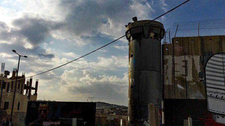 Diese Mauer trennt Israel und das Westjordanland. (Foto: Ruti)