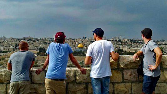 Jerusalem vom Ölberg aus (Foto: Ruti)