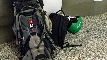 Meine beiden Reiserucksäcke, die mich treu begleiten. (Foto: Ruti)