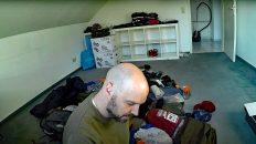 Die Wohnung ist so gut wie leer. Ich stehe kurz vor der Abreise. (Foto: Ruti)