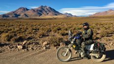 Werner entdeckt die atemberaubende Schönheit der Anden in Chile. (Foto: Werner Willimann)