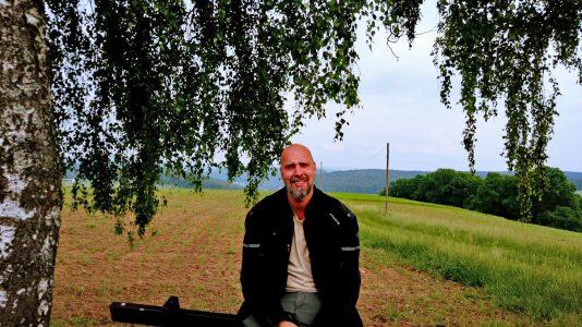 Ich bin in den schönen Odenwald gefahren, um ein Fazit meiner ersten großen Motorradreise zu ziehen. (Foto: Ruti)