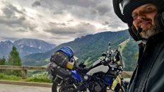 Über einige Alpenpässe führt mein Weg nach Slowenien. (Foto: Ruti)