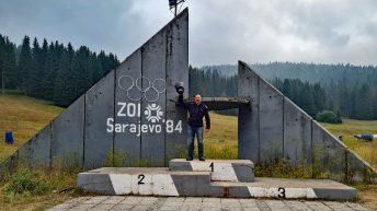 Die Ruinen der Olympischen Spiele 1984 in Sarajewo waren für mich ein besonderes Highlight in Bosnien und Herzegowina. (Foto: Ruti)